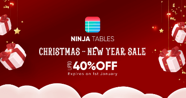 Ninja Tables Christmas Deals