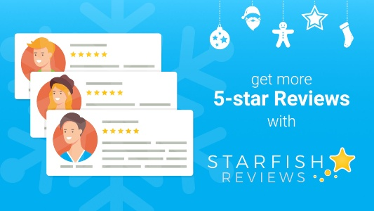 Starfish Reviews Holiday Banner