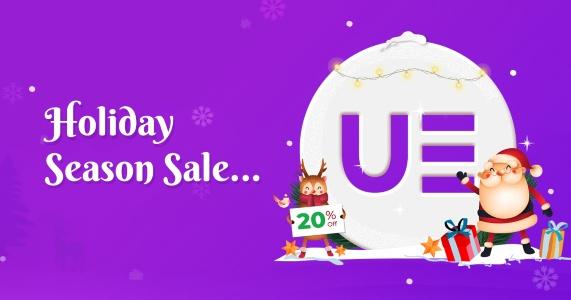 UAELEMENTR Christmas Banner