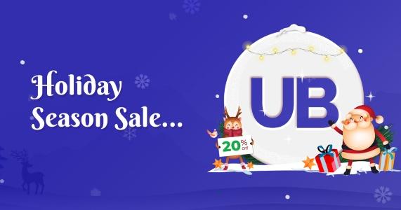 UBEAVER Christmas Banner