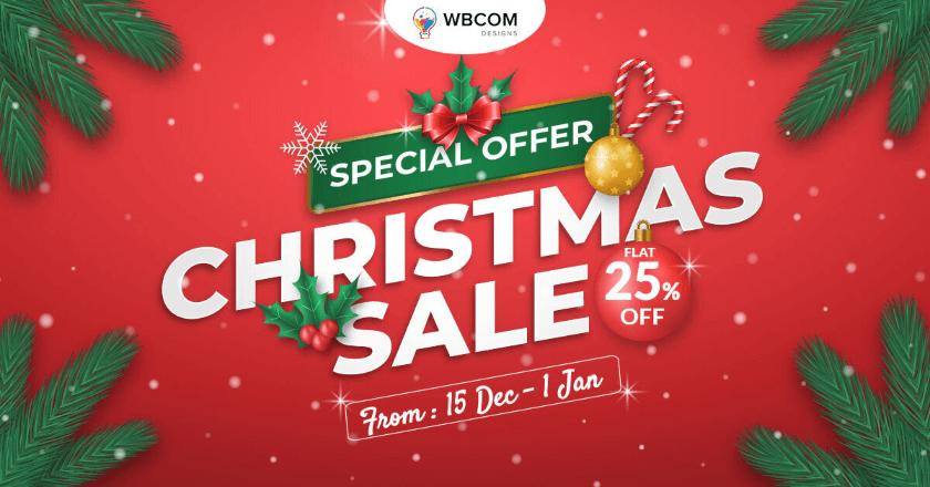 WBcom Christmas Banner