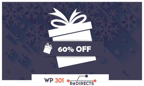 WP 301 Redirects New Year Discount