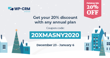 WP-CRM System Christmas deals