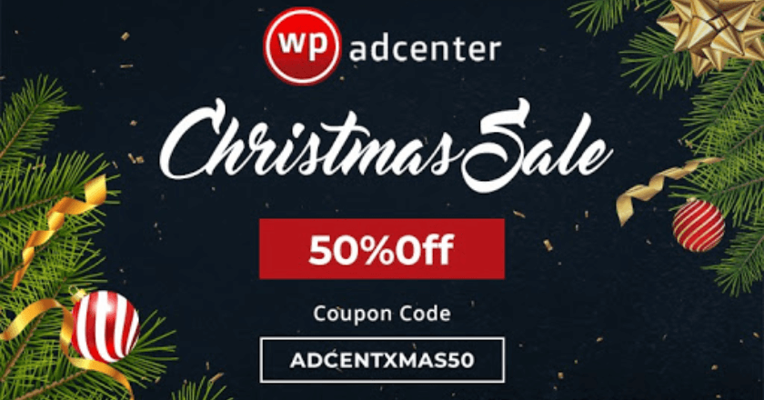 WPadcenter Christmas Banner