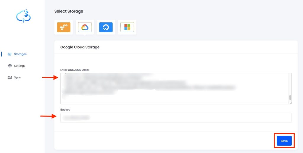 Confirm Google Cloud Bucket Credentials