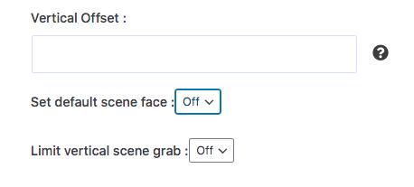 Set Default Scene Face