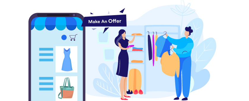 Make an Offer to sell clothes online