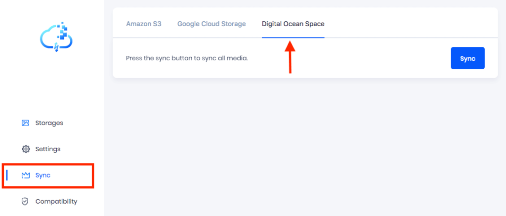 Sync DigitalOcean Space