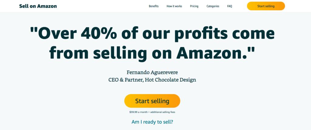 Create Account on Amazon Seller Central
