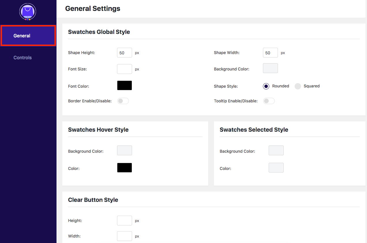 Variation Swatches for WooCommerce - Dashboard Overview 1