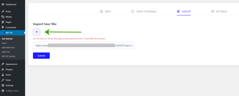 Import File URL