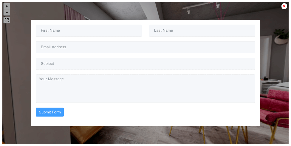 Form on Frontend