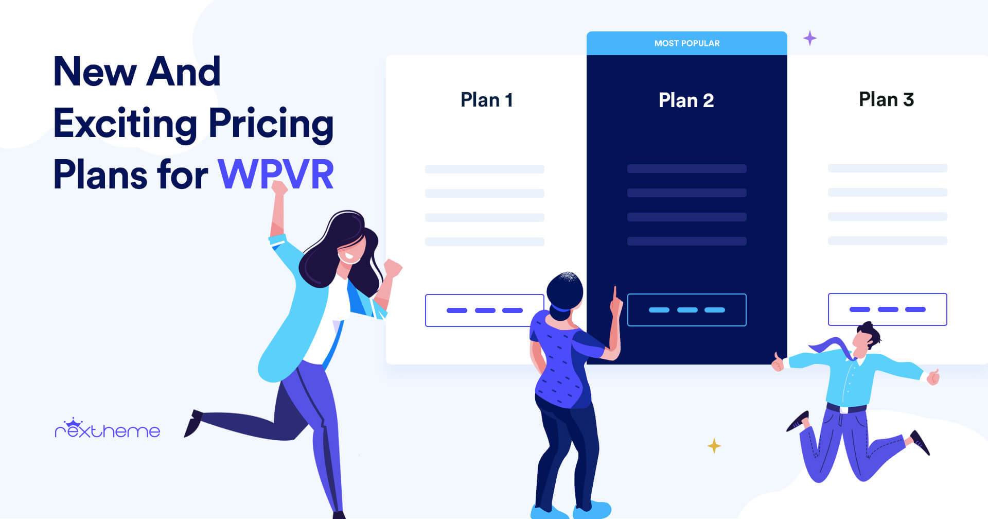 New & Exciting Pricing Plans – WP VR [2020]