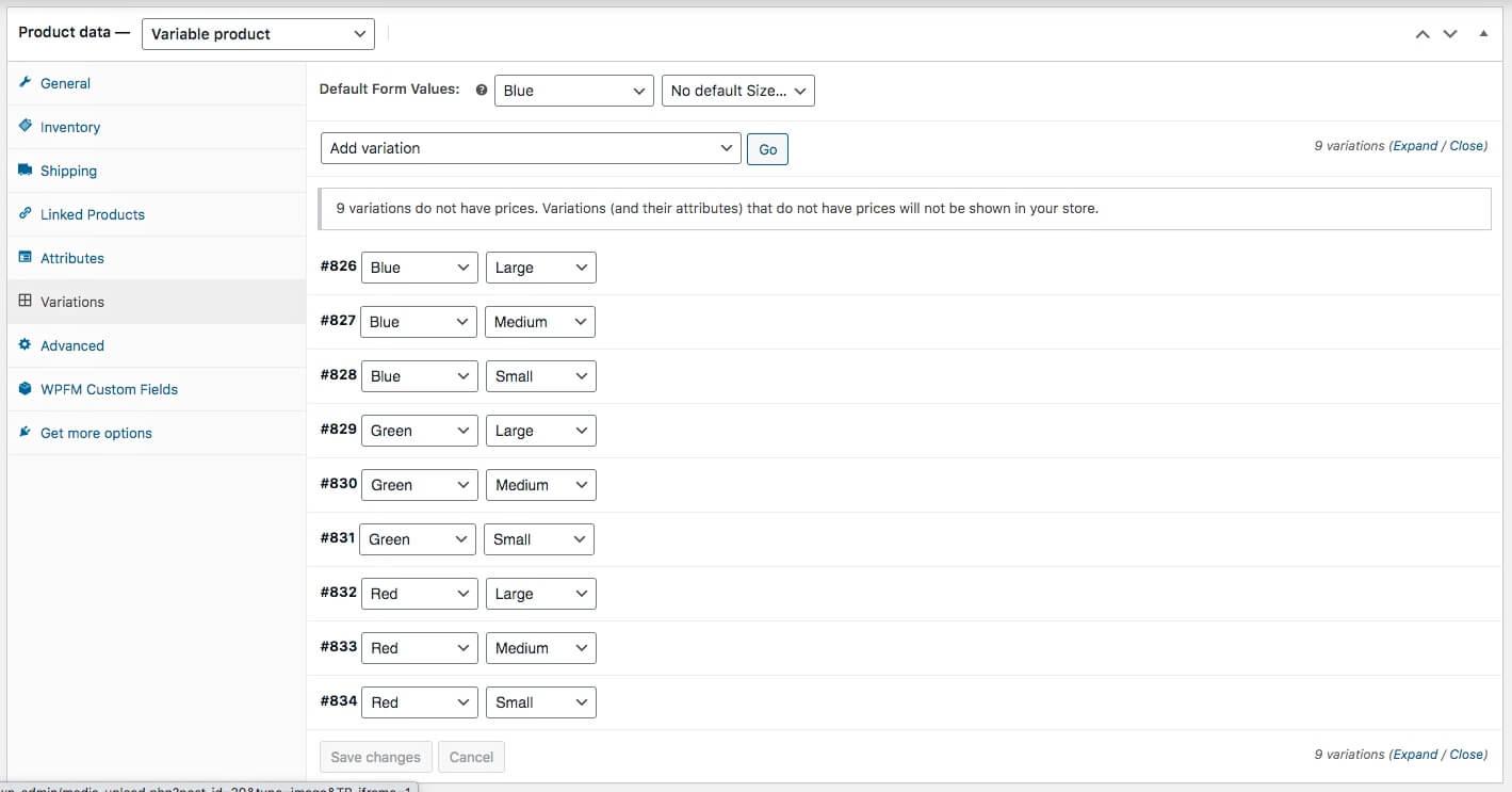 Generate-variants-Generate-variants-added multiple