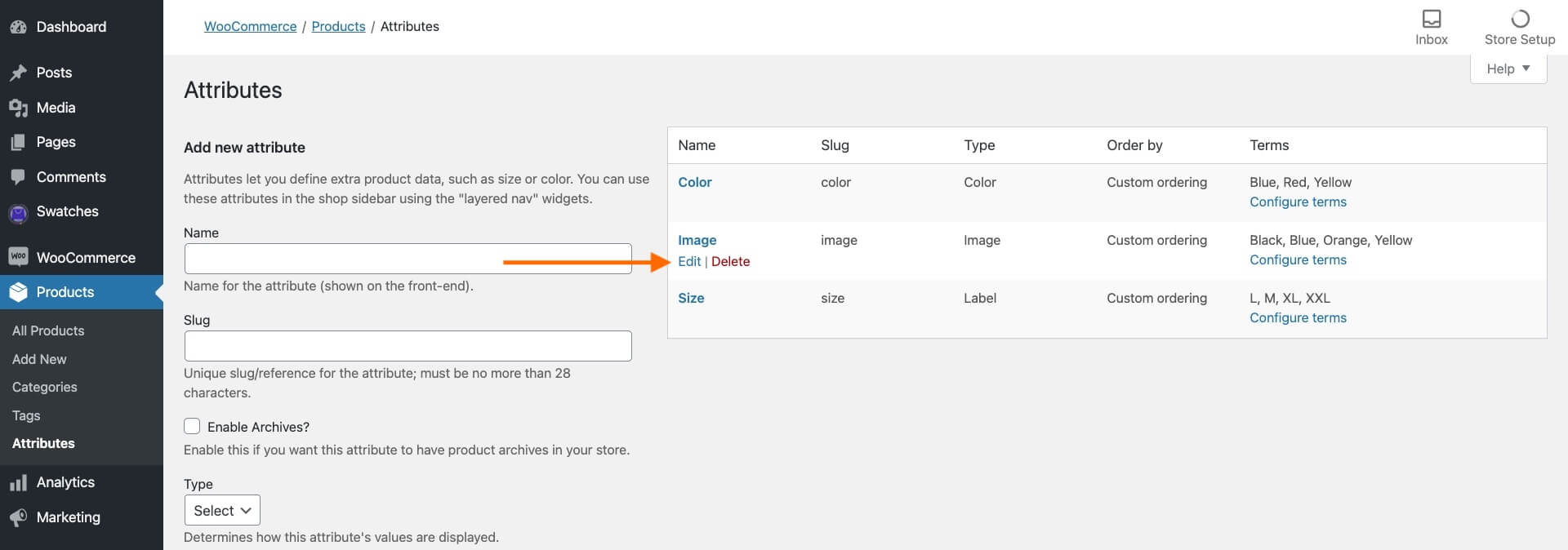 How To Set Up WooCommerce Image Swatches For Image Variation 3