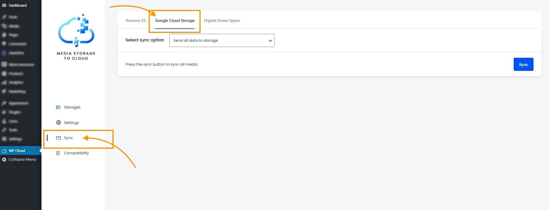 Google Cloud Storage Sync