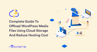 Offload WordPress media files using cloud storage