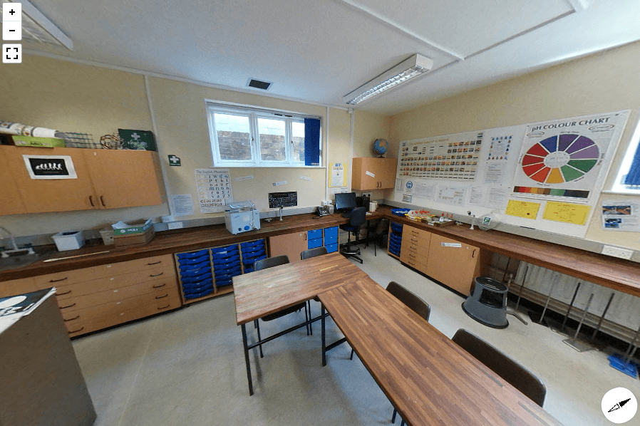 Sherborne Chemistry Lab Virtual Tour
