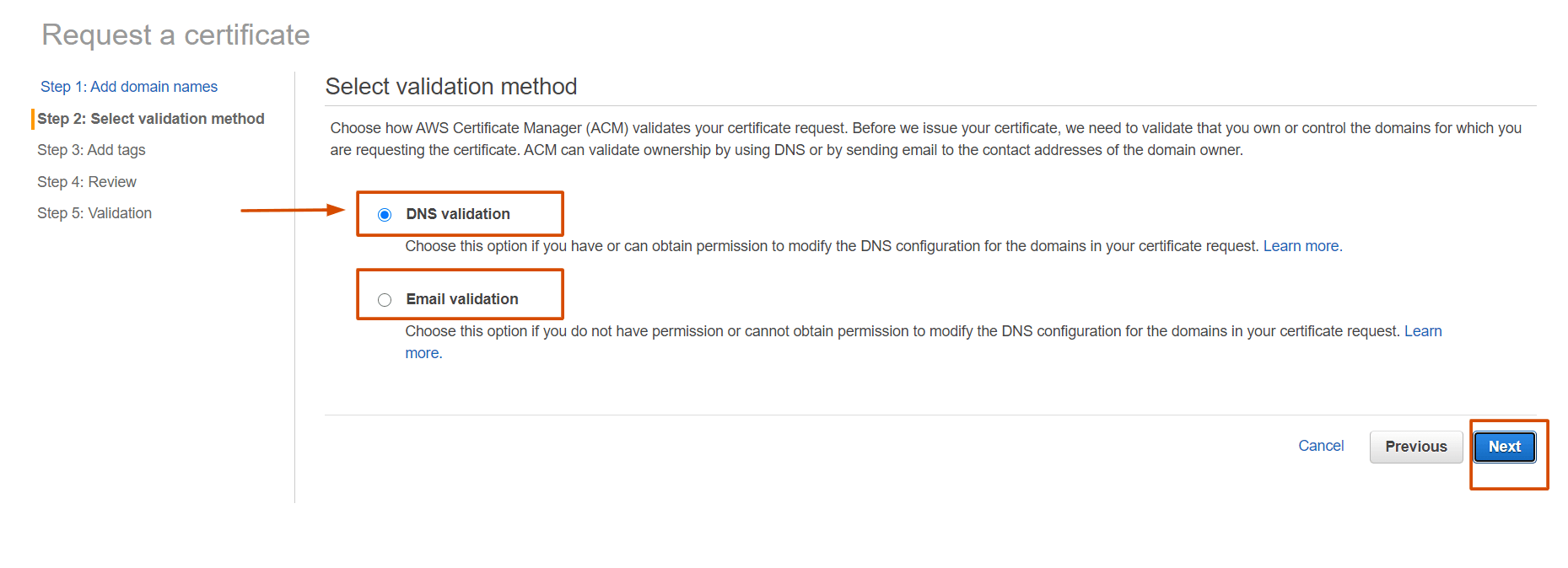 DNS Validation and Email Validation