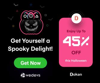 Dokan Halloween Discount - WordPress