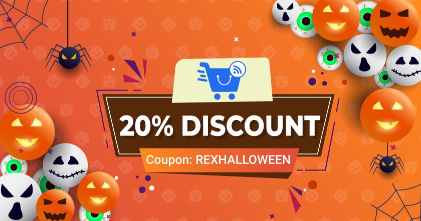 Halloween Discount Google Feed WooCommerce