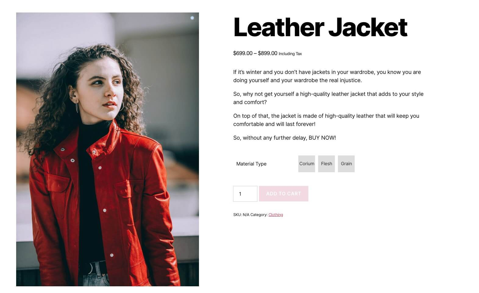 Button Variation swatches for WooCommerce