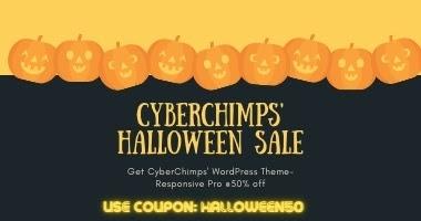 Responsive Pro Halloween Discount