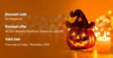 SKT Themes Halloween Discount