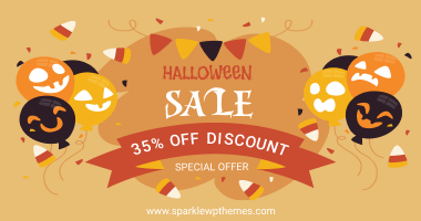 Sparkle Themes Halloween Banner