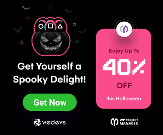 WP Project Manager Pro - Halloween Discount