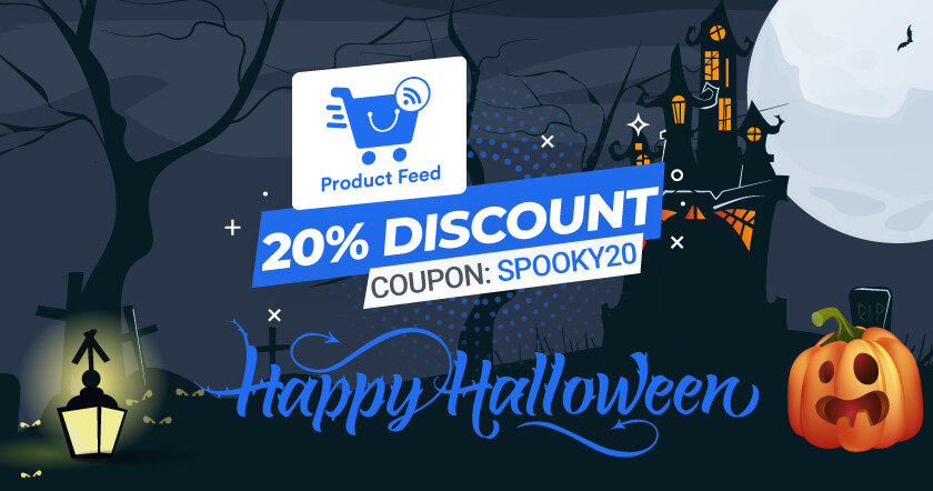 WooCommerce Product Feed Manager Halloween Banner