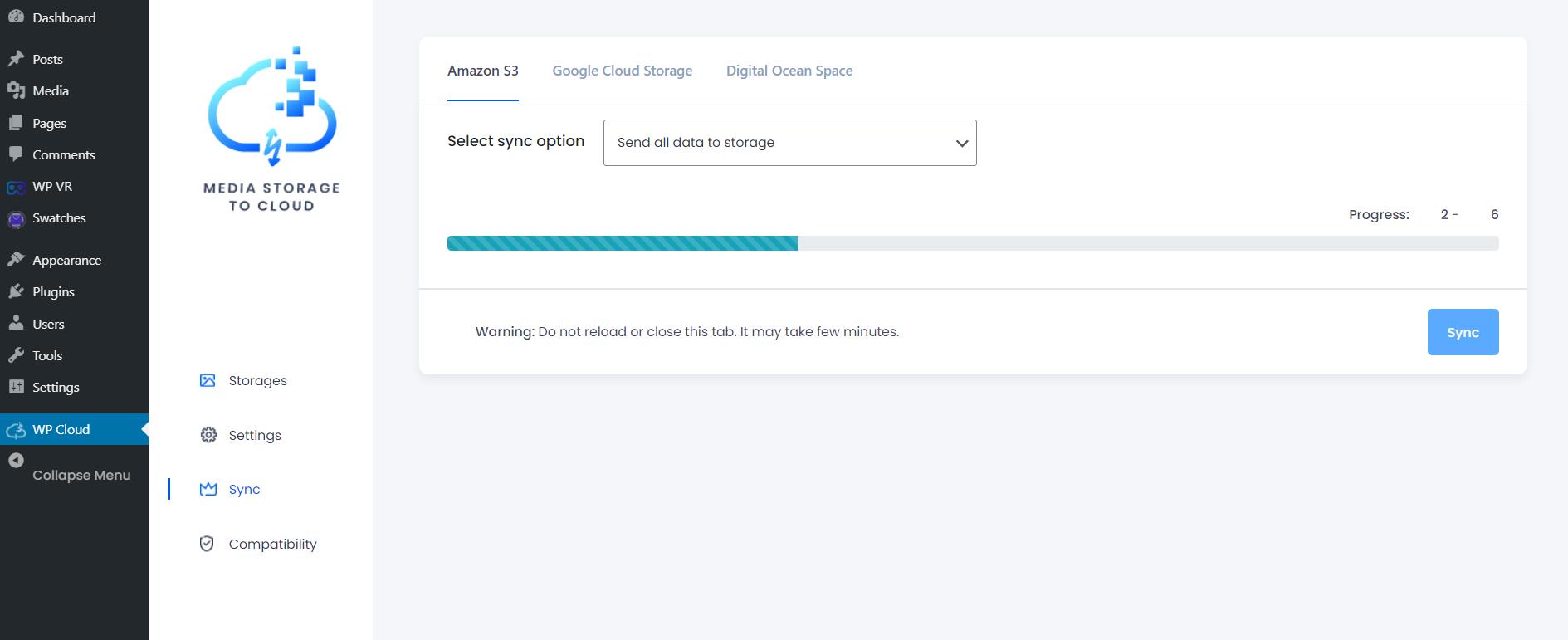 Syncing Media Files To Amazon S3 Bucket