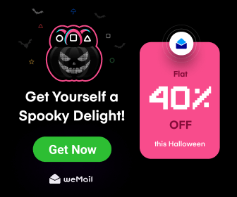 weMail Halloween Discount