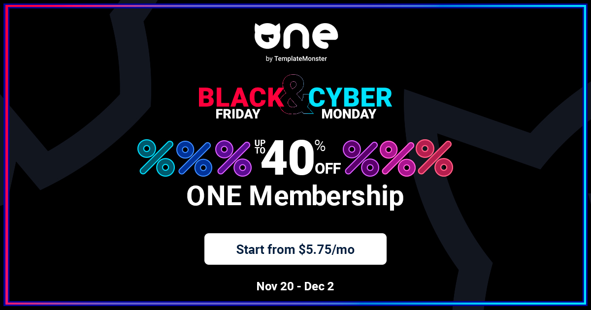 One Program Black Friday Deals