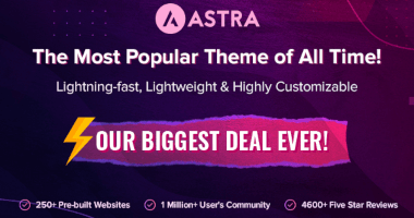 Astra Black Friday Deal