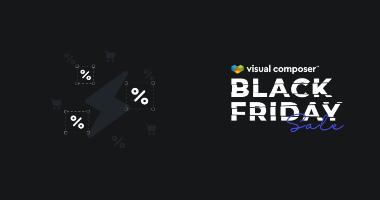Visual Composer Black Friday deals