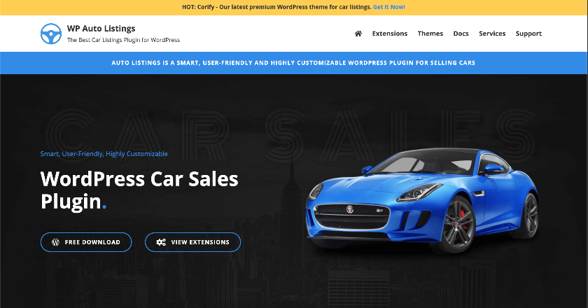 WP Auto Listing Banner
