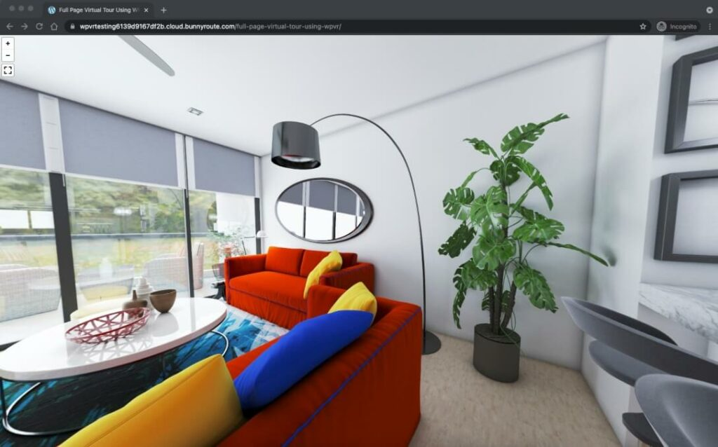 Full Page Virtual Tour - Published