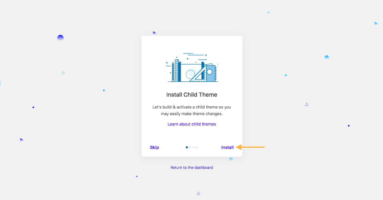 Install VR Places Child Theme