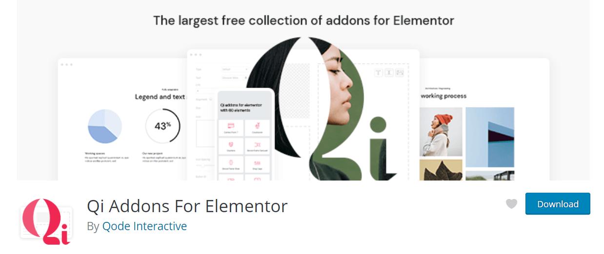 Qi Addons for Elementor Banner