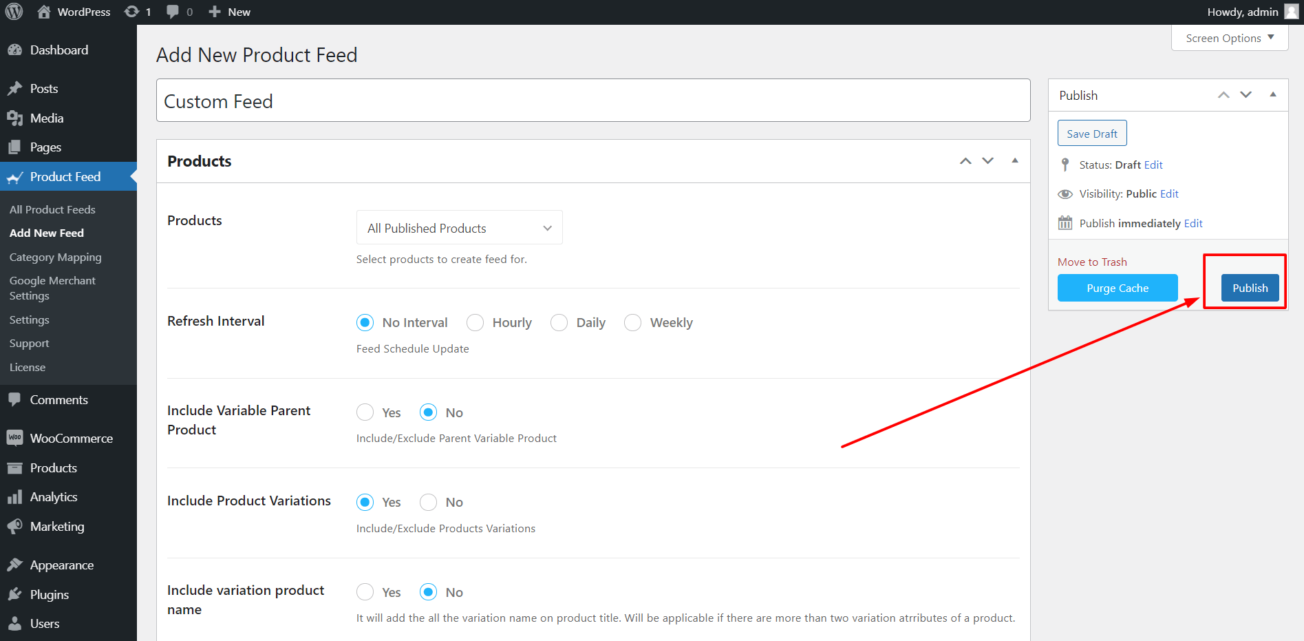 Product Feed Manager Generate A Custom Product Feed