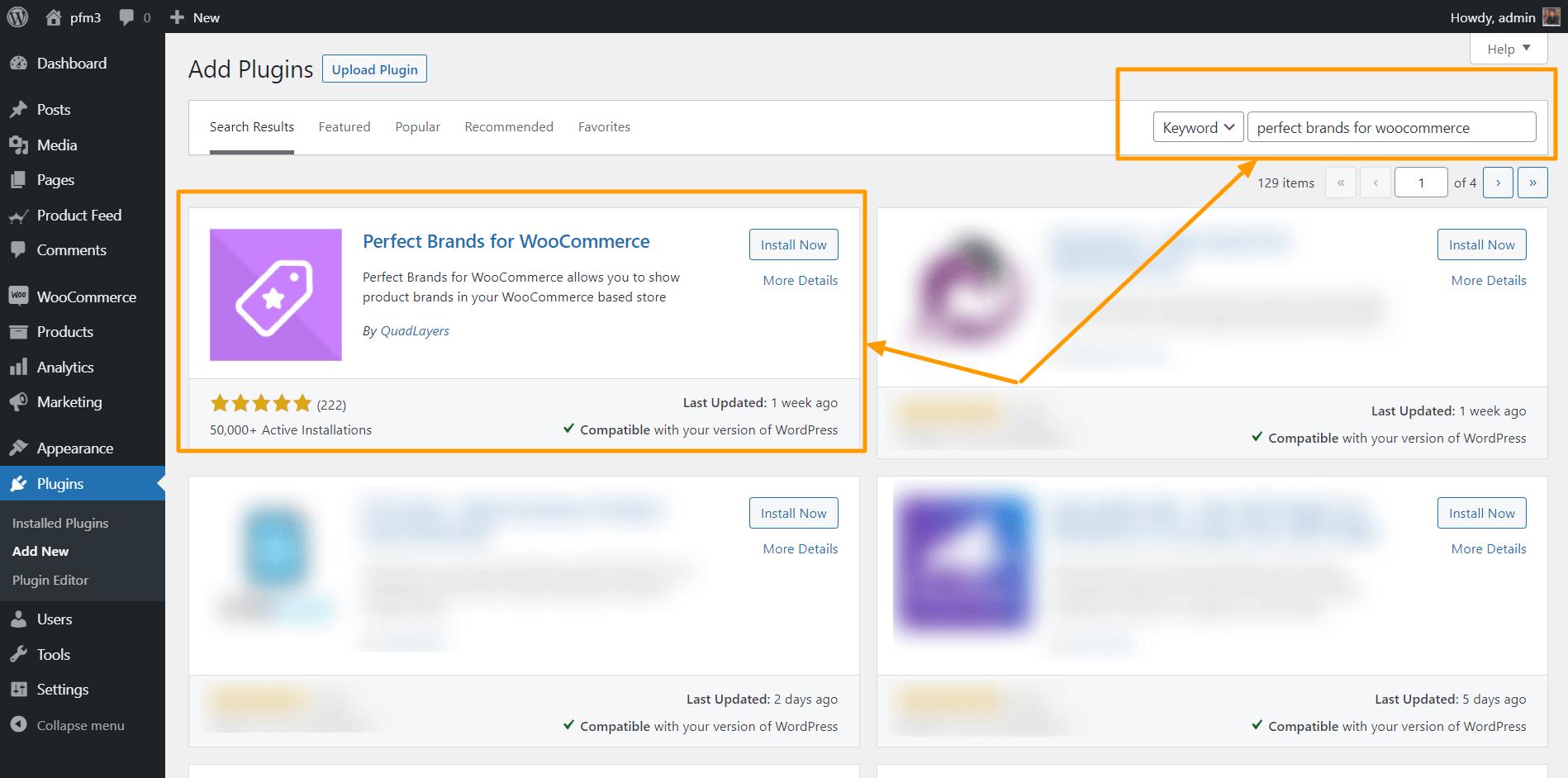 WordPress Search New Plugin
