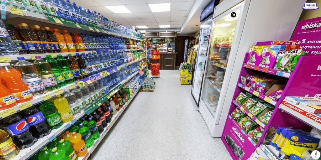 Grocery Store Virtual Tour
